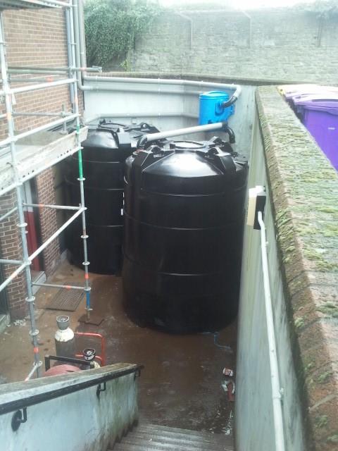 Commercial rainwater harvesting waterways environmental for Rain harvesting system design